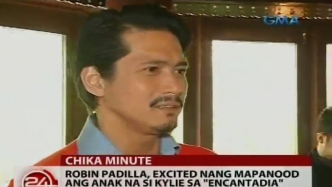 Robin Padilla excited to watch daughter Kylie in Encantadia