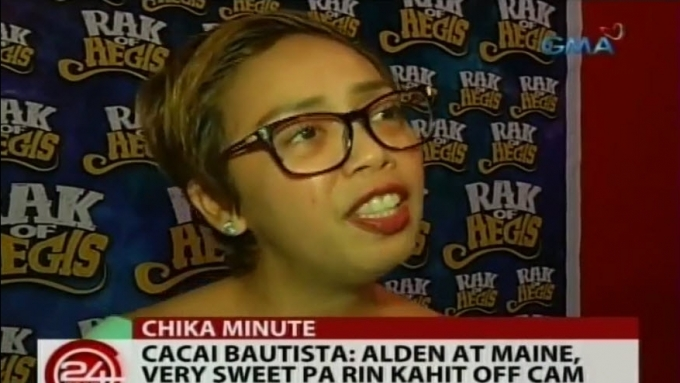 Cacai Bautista thankful for achieving a dream of hers