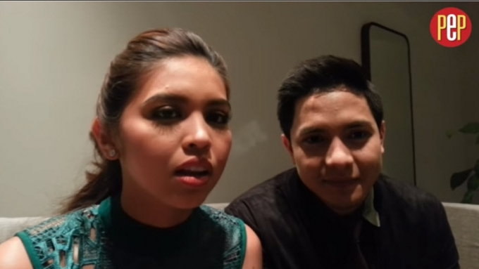 Alden Richards and Maine Mendoza thank fans
