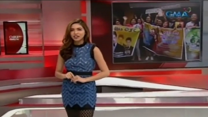 Maine does intro on AlDub Nation report
