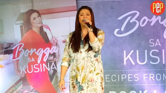 Regine Velasquez treats fans to a mini concert