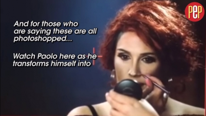 Paolo Ballesteros's transformations: P'shopped or not?