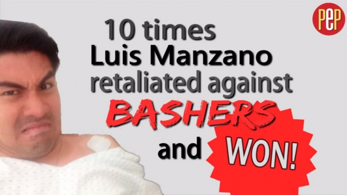 10 times Luis Manzano retaliated against bashers and won