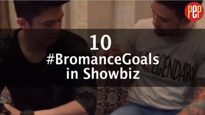 10 #BromanceGoals in showbiz