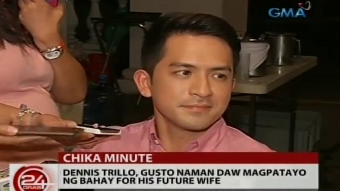 Dennis Trillo planning to build house for his future wife