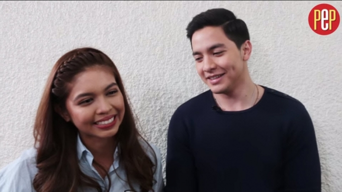 Alden Richards and Maine Mendoza play 'I Like You Meter'