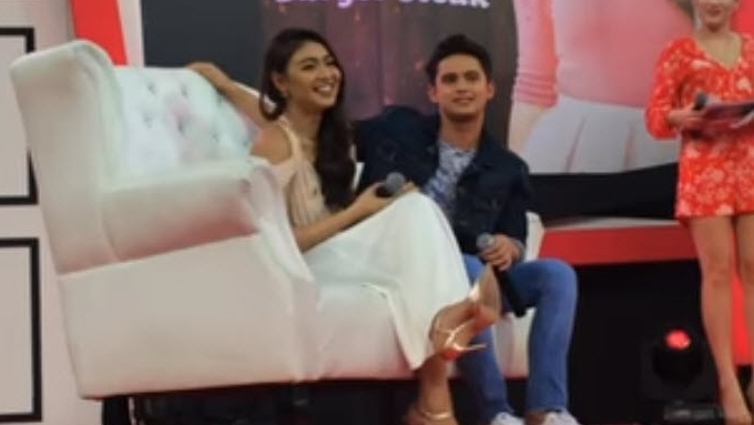 James Reid calls relationship with Nadine Lustre 'spicy'