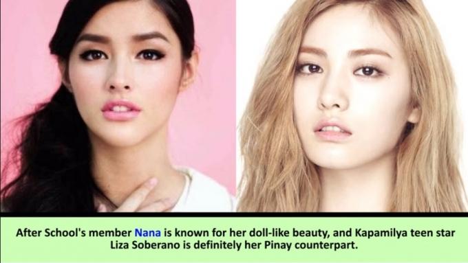 14 Pinoy celebs with Korean star look-alikes