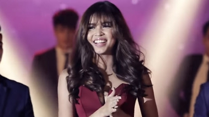 Maine Mendoza's thanksgiving party
