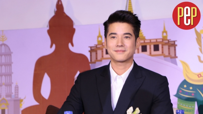 The story behind Mario Maurer's Instagram handle