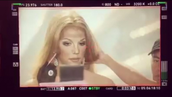 Paolo Ballesteros turns into Britney Spears