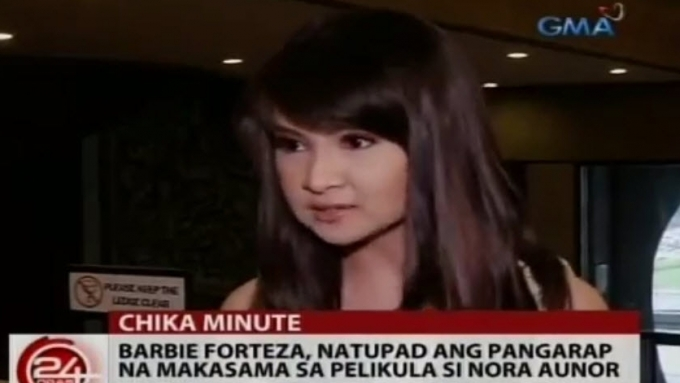 Barbie happy to fulfill dream of working with Ate Guy