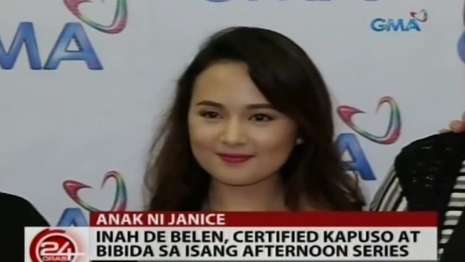 Janice-John daughter now a Kapuso