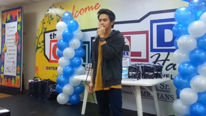 Jake Vargas sings 'Basta't Kasama Kita' in Child Haus