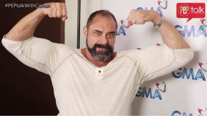 Encantadia's Conan Stevens on his wrestling past