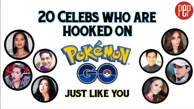 20 Celebs who are hooked on Pokemon Go just like you!