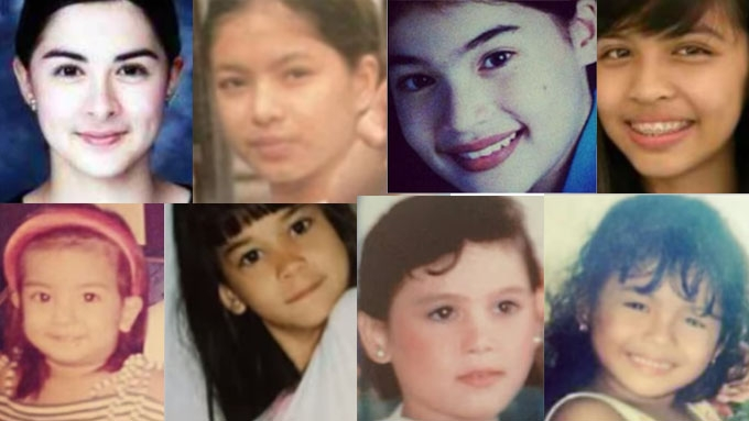 Marian, Angel, Anne, Maine, and others' pics then and now