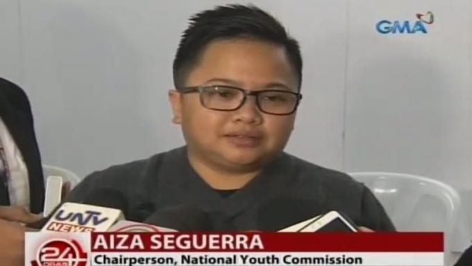 Aiza to bashers: 'Ako na lang ang tirahin, not my wife.'