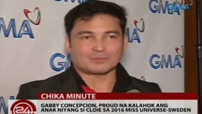 Gabby Concepcion proud of daughter Cloie