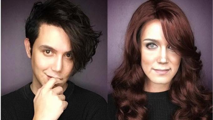 Paolo Ballesteros's Kate Middleton transformation video
