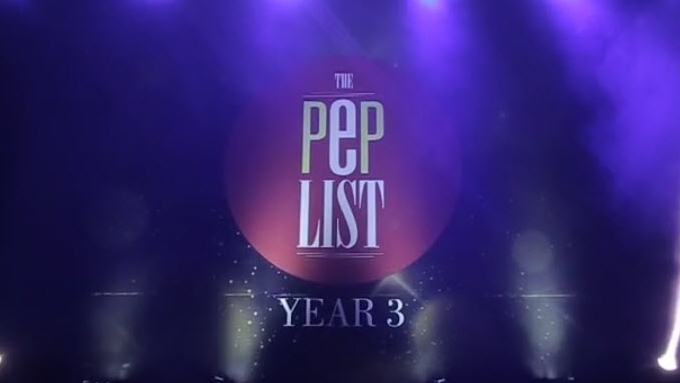 The PEP List Year 3 night in less than 3 minutes