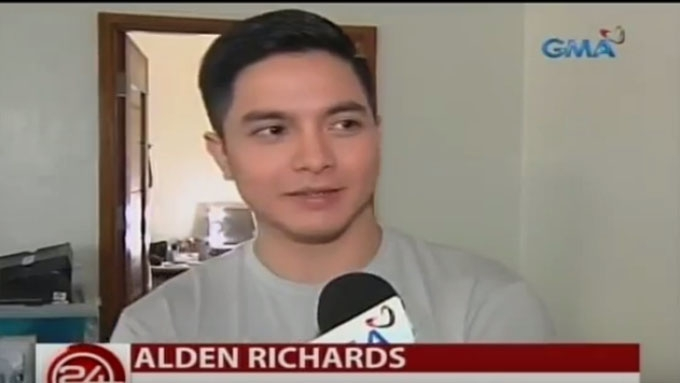 Alden Richards starts taping for Encantadia