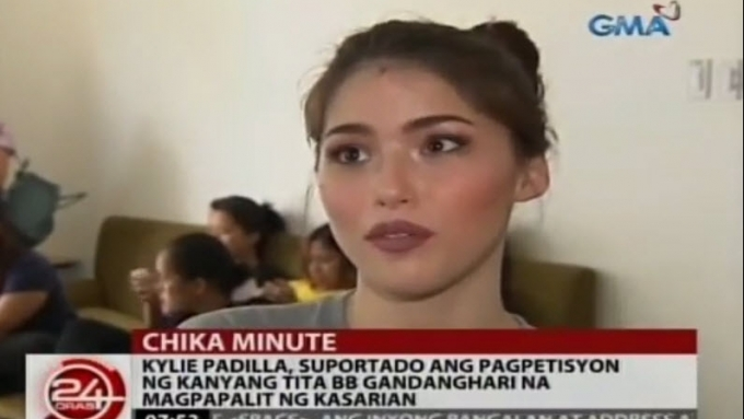 Kylie supports BB Gandanghari's decision to change gender