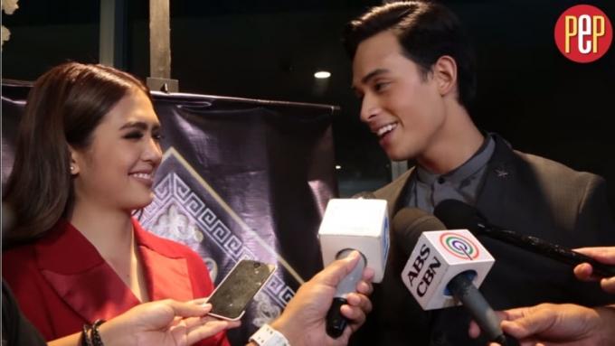 Diego Loyzaga to Sofia Andres: 'Maganda kang bata.'