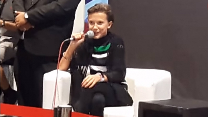 Millie Bobby Brown on chopping her hair off for series