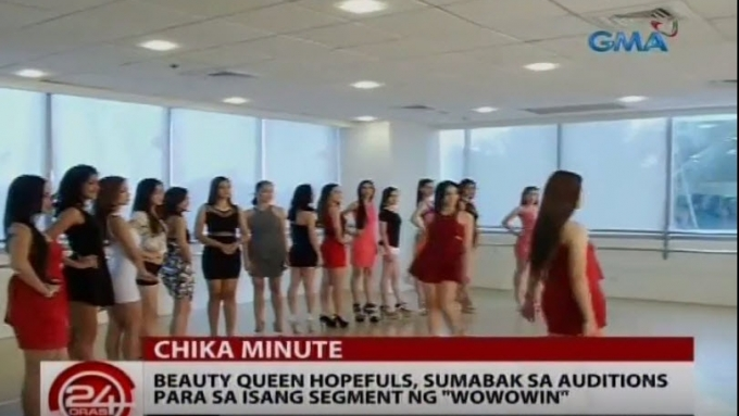 <em>Wowowin</em>'s Miss Wow 2016 audition ongoing