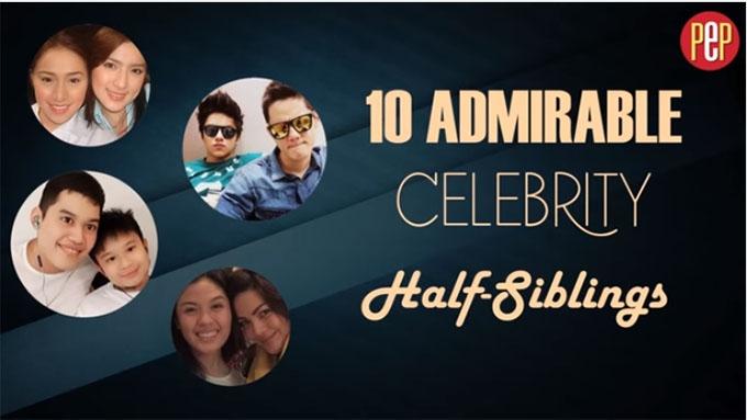 10 admirable celebrity half-siblings