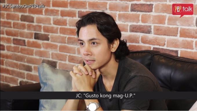 JC confesses 'unprofessional way' he entered school