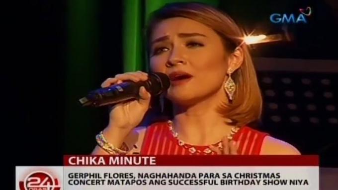 Gerphil Flores planning Christmas concert