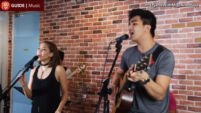 Migz and Maya perform 'Ambon'