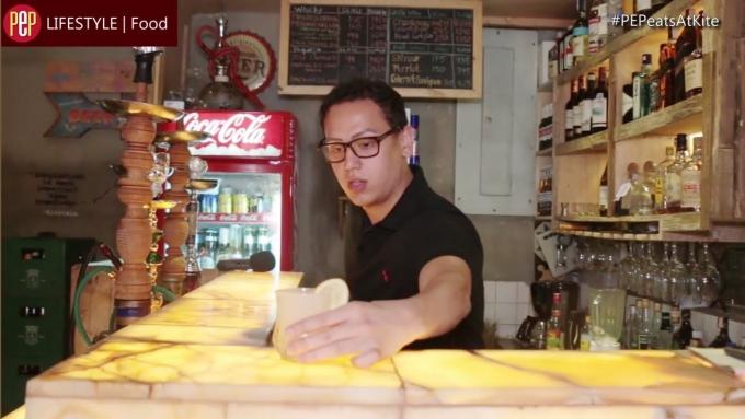 Frozen Margarita a la Kian Kazemi