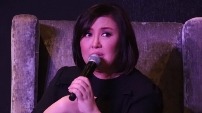 Sharon Cuneta gets emotional while talking about her bashers