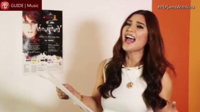 PEP JAMS. Vina Morales covers Katy, Miley, Ariana songs