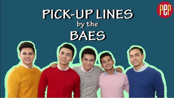Pick Up Lines by the Eat Bulaga Baes