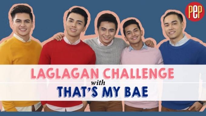 That's My Bae hunks take on the 'Laglagan Challenge'