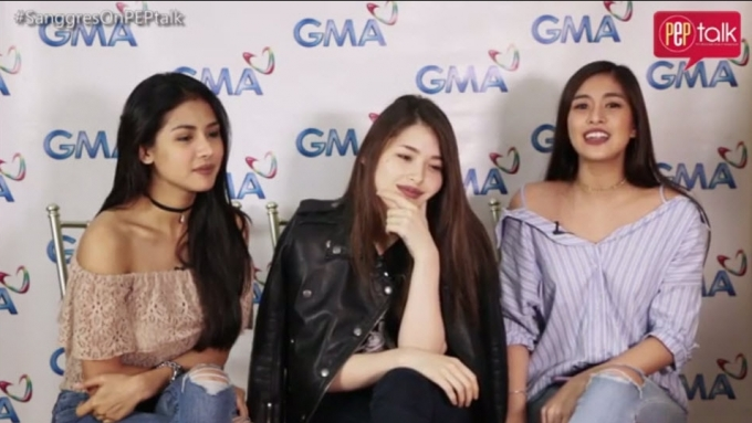 PEP TALK. Sanya, Kylie, Gabbi on how they live their roles