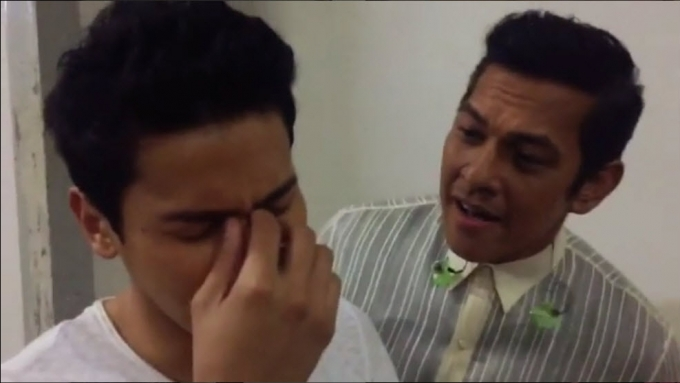 FUNNY! Watch how Gary Valenciano comforts Enchong Dee