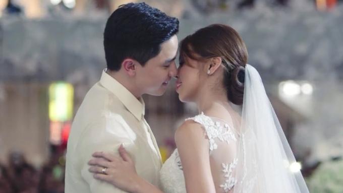 WATCH: Maine Mendoza and Alden Richards's wedding videos