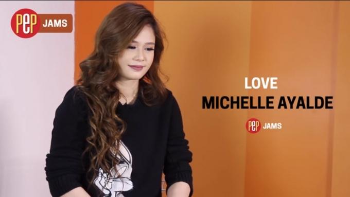 PEP JAMS. Michelle Ayalde sings 'Love'