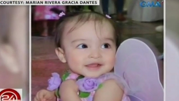 No big 1st birthday party for Zia, says Marian