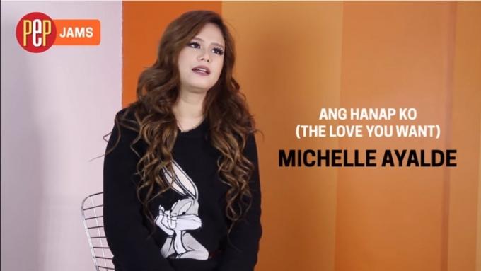 Michelle Ayalde sing Tagalog version of 'Ni Yao De Ai'