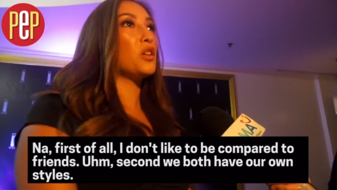 Solenn: 'I don't like to be compared to friends!'