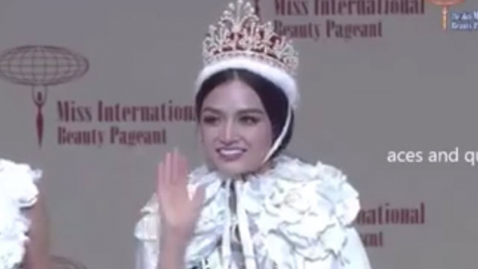 WATCH: Kylie Verzosa's crowning moment and speech