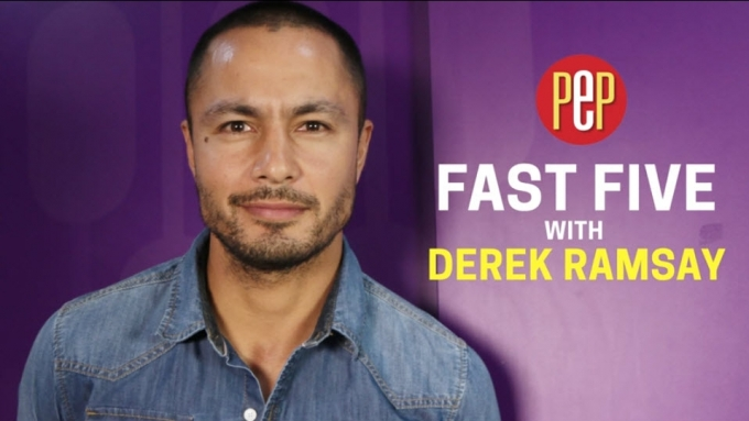Derek Ramsay's unnecessary talent is...