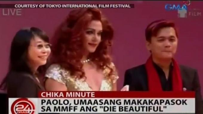 """Paolo Ballesteros recalls awards """"surprise"""""""