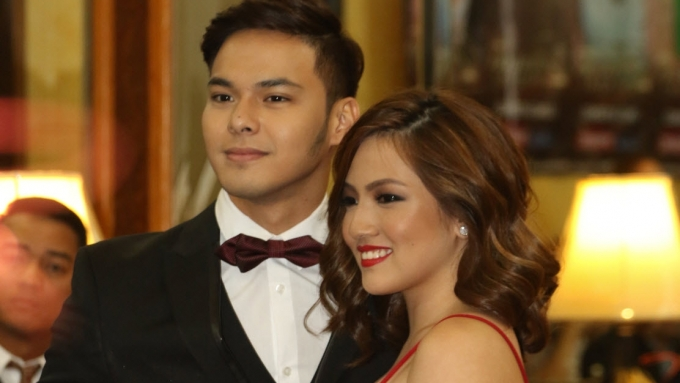 Ex-couple Kristoffer and Joyce on their kissing scene